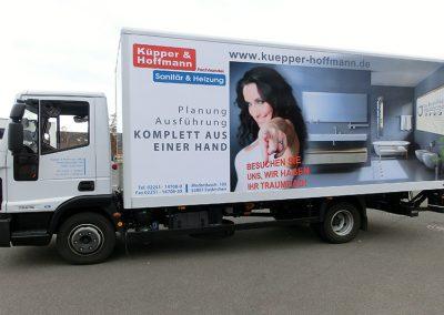 dieses Foto zeigt eine Autobeschriftung, erstellt von DEKU Werbung GbR